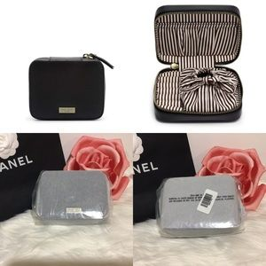 Henri Bendel West 57th Leather Travel Jewelry Case